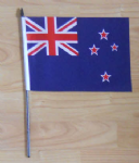New Zealand Country Hand Flag - Medium.